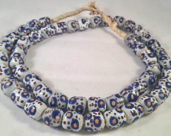 Old Antique Venetian Millefiori African Trade Beads I African Trade Beads I Trade Beads I Venetian Antique Beads I Handmade Africa Beads