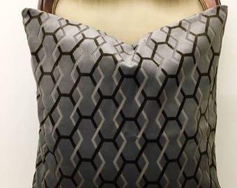 Grey Velvet Pillow Cover, Grey Pillow, Velvet Pillow, Luxury Pillows, Decorative Throw Pillow, Velvet Cushion, Grey Velvet Pillow Covers