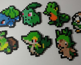 Pokemon Grass Starters