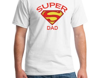 Super dad t-shirt-superhero shirt-father shirt-birthday dad t-shirt-gift t-shirt-great dad t-shirt-happy fathers day t-shirt-father tee-dad