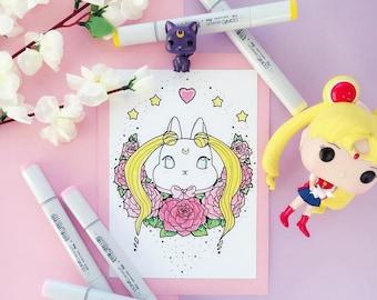 Bunny - Sailor Moon - Print