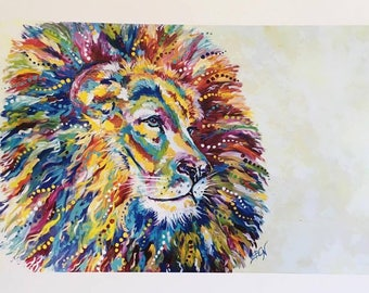 King of the Jungle Print