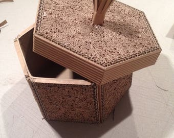 Hexagonal box carton gross: 15 22