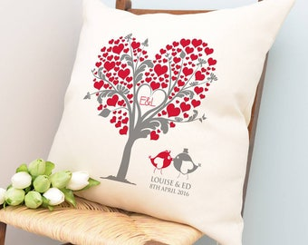 Personalised Love Tree Cushion