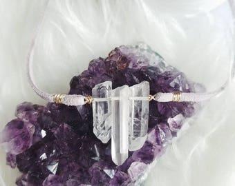 FAIRYDUST Crystal choker