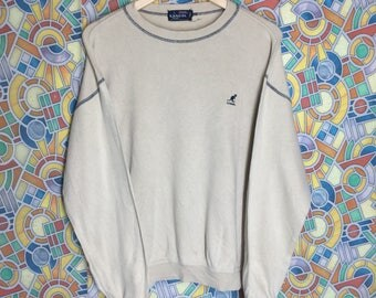 vintage kangol sweatshirt crewneck pullover kangol jumper sweatshirt made in japan
