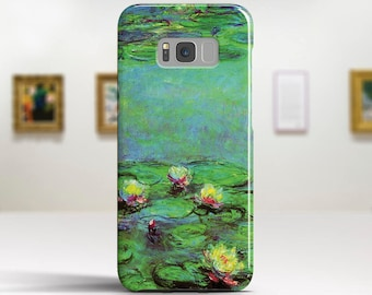 """Claude Monet, """"Water Lilies"""". Samsung Galaxy S6 Case LG G5 case Huawei P9 Case Galaxy A5 2017 Case and more. Art phone cases."""