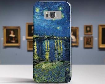 "Vincent Van Gogh ""Starry Night"". Samsung Galaxy S8 Case LG V30 case Google Pixel Case Galaxy J7 2017 Case and more."