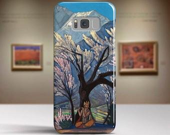 "Nicholas Roerich, ""Krishna"". Samsung S8 Case, Samsung S7 Case, Samsung S6 Case, Huawei, LG, Google Pixel Cases. Art phone cases."