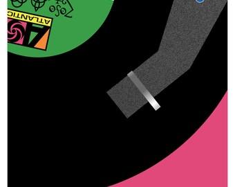 Led Zeppelin IV Vinyl fine art giclée print