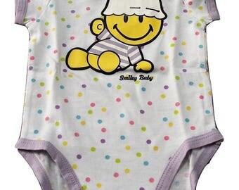 6 months baby girl short sleeve BABY Bodysuit (68 cm)