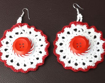 Beautiful earrings with a difference