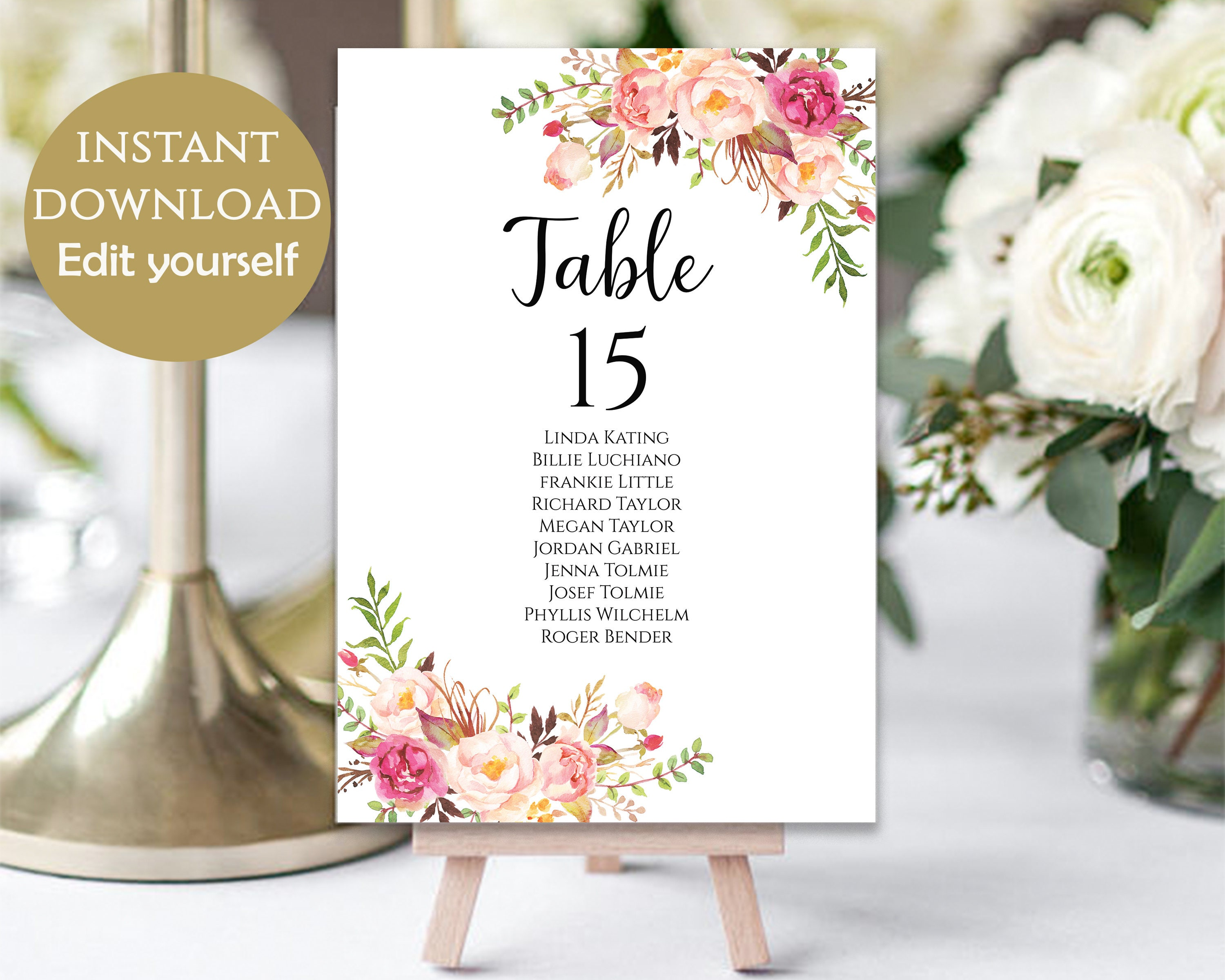 Wedding seating chart template seating cards seating chart sign wedding seating chart template seating cards seating chart sign editable seating chart printable templates editable signs maxwellsz