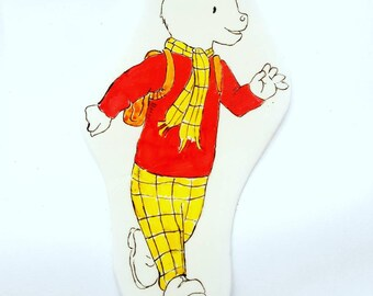 Rupert the Bear Cake Topper