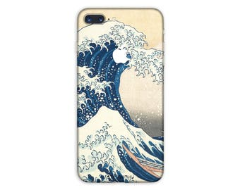 Great Wave off Kanagawa iPhone Skin Art iPhone Sticker Case  iPhone Decal iPhone 7  plus iPhone 6 iPhone 6s 6 plus 5 5s SE PS048
