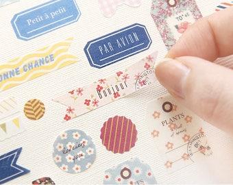PETIT Deco Sticker set / A set of 3type, 6sheets / C-01 / 770098