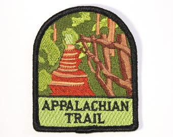 Appalachian Trail Souvenir Patch from Great Smoky Mountains National Park Iron-on FREE SHIPPING Scrapbooking