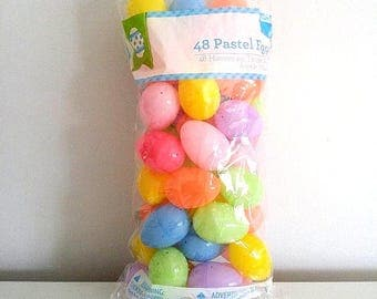 Animal rescue & charities - crafting eggs bag of easter eggs empty plastic eggs x 48