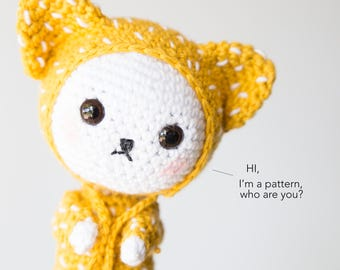 Crochet Amigurumi Cat Pattern, Amigurumi Pattern Cat Crochet Pattern, Cat Amigurumi Pattern, Amigurumi Animal Crochet Pattern PDF