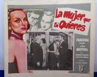 Spanish Movie Poster for La Mujer que tu Quieres