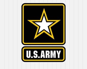 US Army Logo svg - US military Svg - svg, dxf, eps, png, Pdf - Download - Cut File, Clipart - Cricut Explorer - Silhouette Cameo