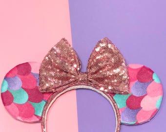 Pink Mermaid Ears