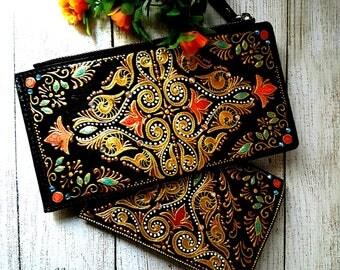 """Women's wallet """"Mandala """""""