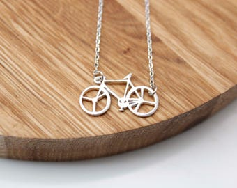 Bicycle necklace, Bike necklace pendant Necklace ,bicycle jewelry, Bike neckace, Sports Jewelry,