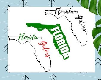Florida Gators svg Florida Svg Florida state svg Football Svg Sports svg University of Florida svg files for Cricut Silhouette lfvs