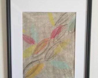 Lively Leaves Print