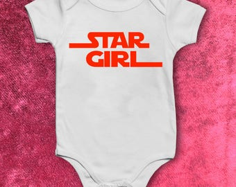 Star Girl Star Wars Baby Body Suit