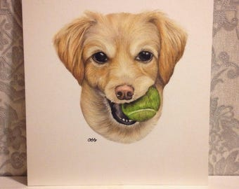 8x10 Inch Custom Pet Portrait