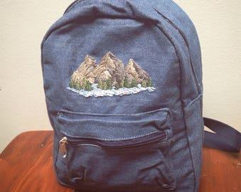 Mini Mountain Backpack