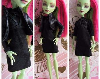 Monster high custom doll OOAK Venus Mc Flytrap Ghoul