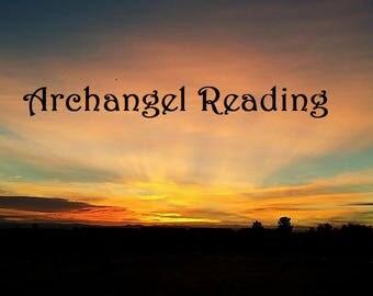 Archangel Tarot Card Reading, Via PDF, Clairvoyance, Psychic Reading 24Hr