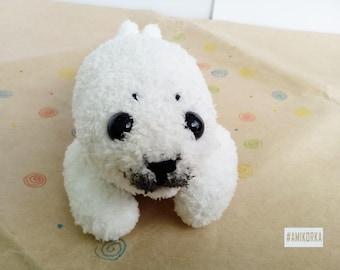Seal baby softy amigurumi gift