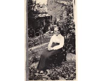 Real Photo Postcard: Great-grandmother?
