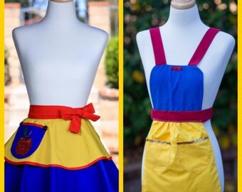 Apple Princess Aprons Children and Adult