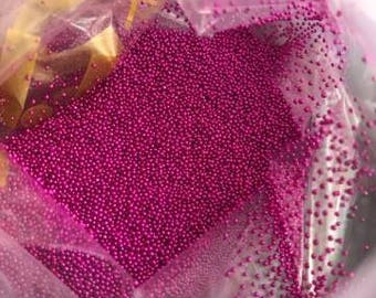 Micro-ball caviar fuchsia (Pack of 15gr)