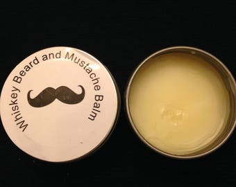 Whiskey Beard and Mustache Balm