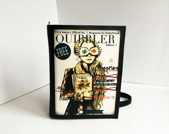Quibbler Magazine Bag Harry Potter Book Purse