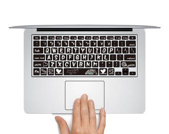 The laptop keyboard sticker macbook pro keyboard skin macbook sticker macbook air sticker