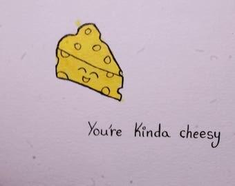 Cheesy - Card