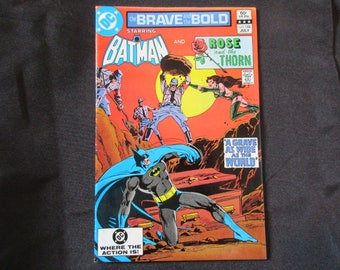 The Brave and The Bold #188 (Teams Up with Rose and The Thorn) D.C. Comics 1982
