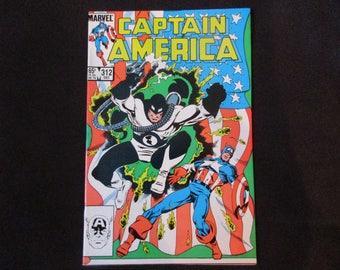 Captain America #312 Marvel Comics 1985