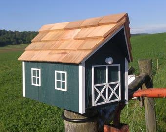 Mailbox Amish Handmade wood