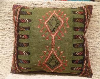 20x24 large kilim pillow cover,turkish kilim pillow,vintage pillow,decorative pillow,pillow,bohemian pillow,kilim cushion cover