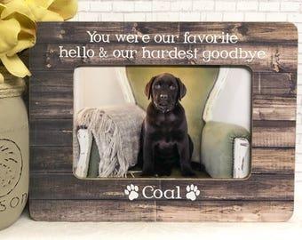 Dog Loss Frame  Cat Loss Frame  Pet Loss  Pet Loss Gift Idea  Memorial Frame  Remembrance Frame  Dog Frame  Cat Frame  Pet Memorial Frame 