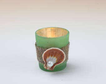 Candle holder - Green