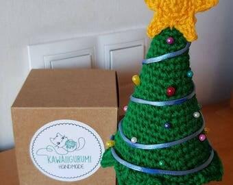 Christmas tree Alfileto Amigurumi kawaii Crochet